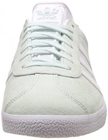 adidas Damen Gazelle Sneakers, Grün (ICE Mint/White/Gold Met), 38 2/3 EU -