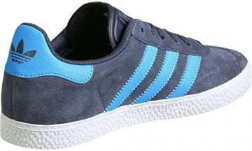 adidas Gazelle J W Schuhe 4,5 grey/cyan/silver -