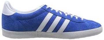 adidas Gazelle OG, Herren Sneakers, Blau (Air Force Blue/White/Metallic Gold), 46 EU (11 Herren UK) -