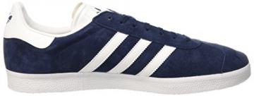 adidas Herren Gazelle Sneakers, Azul (Collegiate Navy/White/Gold Met), 42 -