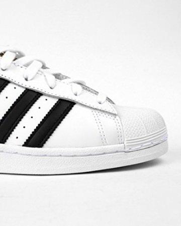 adidas Originals Superstar, Unisex-Kinder Sneakers, Weiß (Ftwr White/Core Black/Ftwr White), 38 EU (5 Kinder UK) -