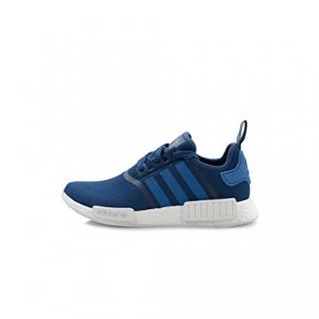 adidas Schuhe - Nmd_R1 blau/blau/weiß Größe: 38 2/3 -