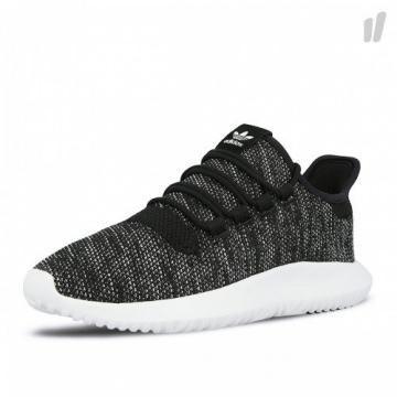 Adidas Sneaker Women TUBULAR SHADOW KNIT BY2220 Schwarz Weiß, Schuhgröße:37 1/3 -