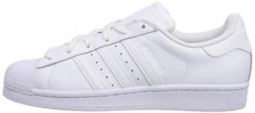 adidas Superstar Foundation, Unisex-Kinder Sneakers, Weiß (Ftwr White/Ftwr White/Ftwr White), 38 2/3 EU (5.5 Kinder UK) -