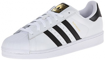 adidas Superstar, Herren Sneakers, Weiß (Ftwr White/Core Black/Ftwr White), 39 1/3 EU (6 Herren UK) -