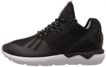 adidas Tubular Runner, Herren Hohe Sneakers, Schwarz (Core Black/Core Black/Ftwr White), 43 1/3 EU (9 Herren UK) -