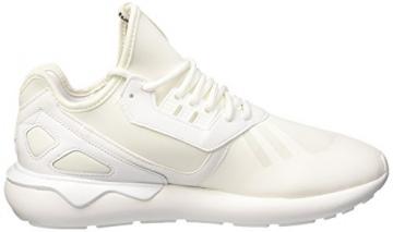 adidas Tubular Runner, Herren Sneakers, Weiß (Ftwr White/Ftwr White/Core Black), 43 1/3 EU (9 Herren UK) -